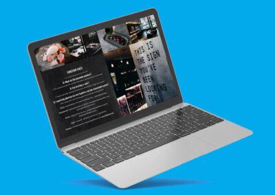 ALMA Restaurant – Restaurant Website Design