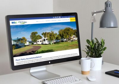 BIG4 Port Fairy – Website Design