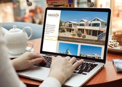 Gold Star Stays – Accommodation Website Design